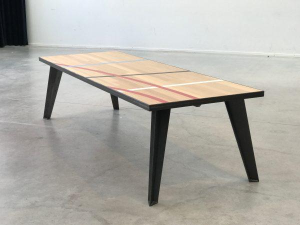 sportvloer tafel